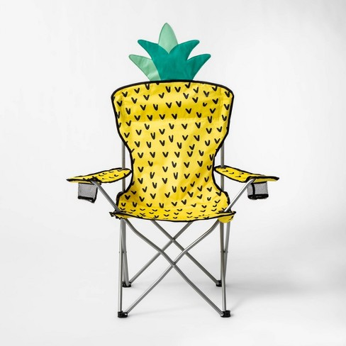 Phenomenal Adult Camp Chair Pineapple Sun Squad Andrewgaddart Wooden Chair Designs For Living Room Andrewgaddartcom