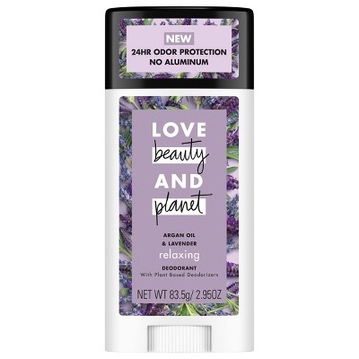Love Beauty Planet Soothing Lavender Deodorant   2.95oz by 2.95oz