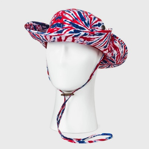 Men's Tie-Dye Americana Boonie Hat - One Size - image 1 of 4