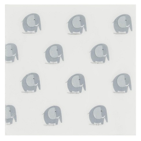 Blue Panda 150 Pack Luncheon Paper Napkins Disposable Birthday Party Supplies Elephant Kids 6 5 X 6 5 Target