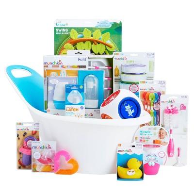 Munchkin My-Muchkin Baby Gift Basket - Pink