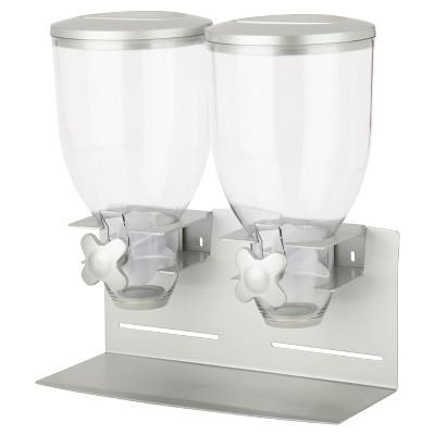 Zevro Professional Edition Double 17.5Oz Dispenser - Silver