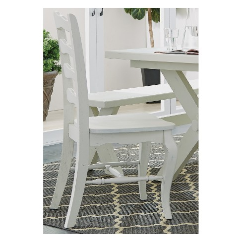Seaside Lodge Dining Chairs White Set of 2 - Home Styles - image 1 of 1