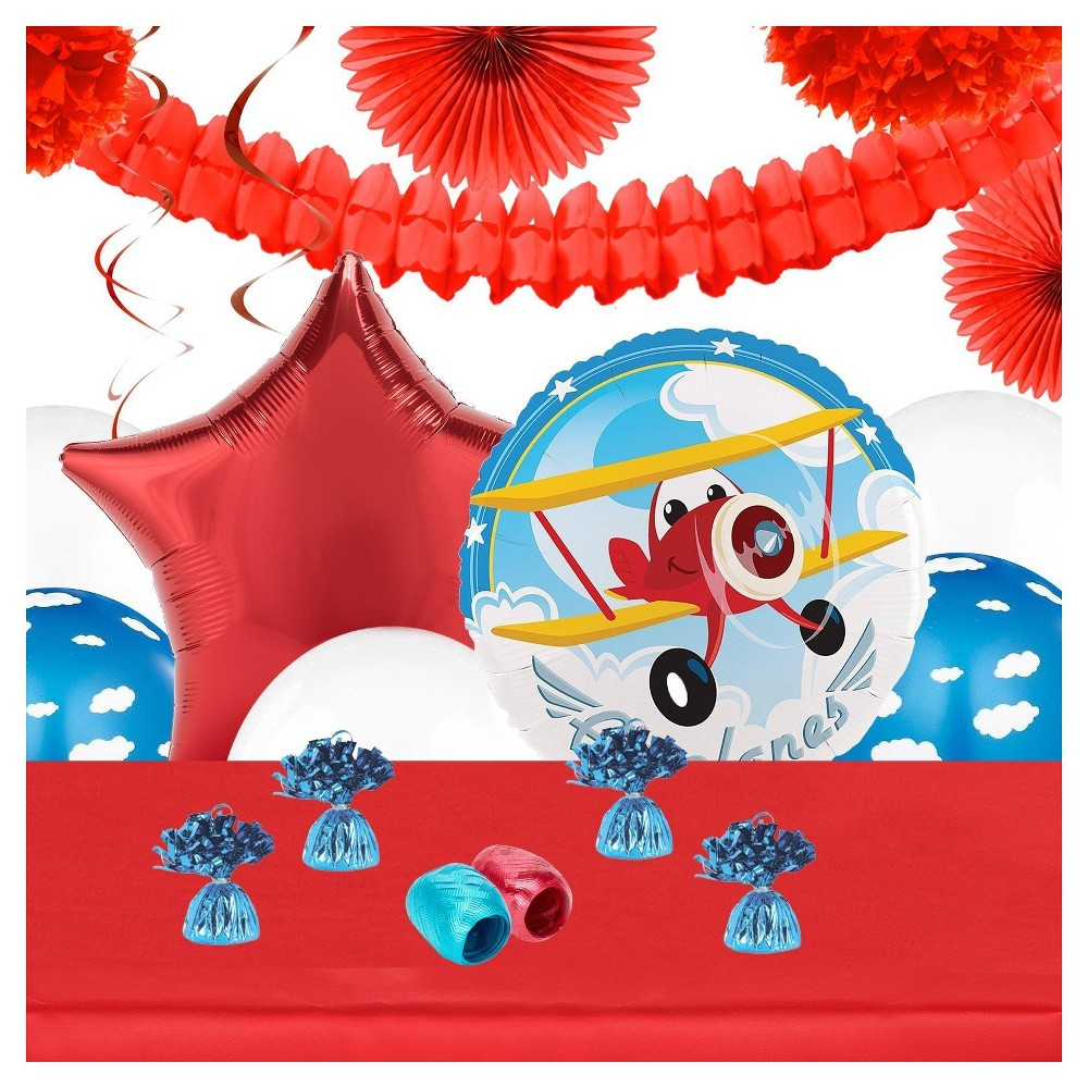 Airplane Adventure Party Decoration Kit