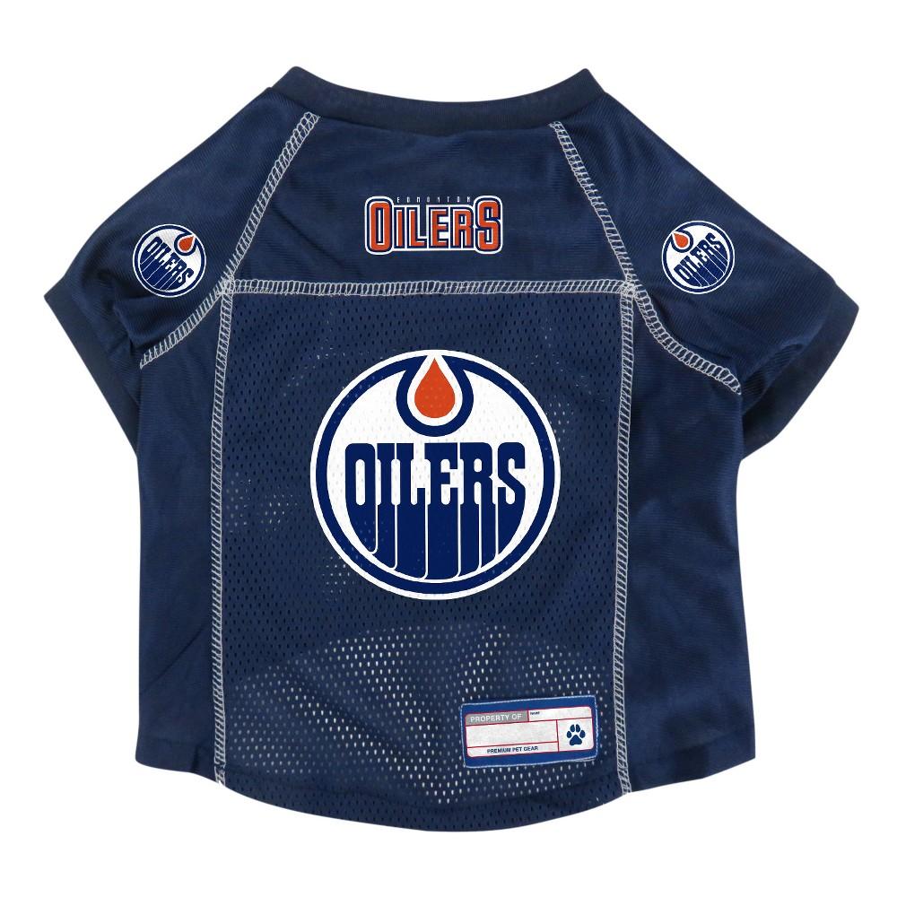 NHL Edmonton Oilers Pet Jersey - M, Multicolored