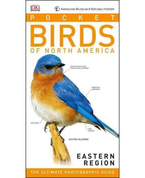 American Museum of Natural History : Pocket Birds of North America, Eastern Region (Paperback) - image 1 of 1