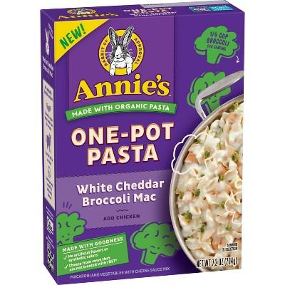 Annie's One Pot White Cheddar Pasta with Broccoli - 7.2oz