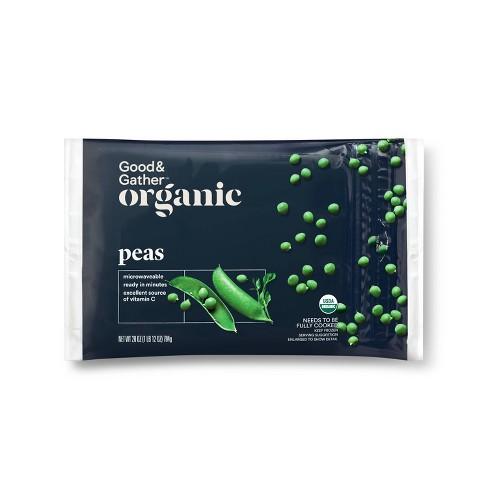 Organic Frozen Peas - 28oz - Good & Gather™ - image 1 of 2