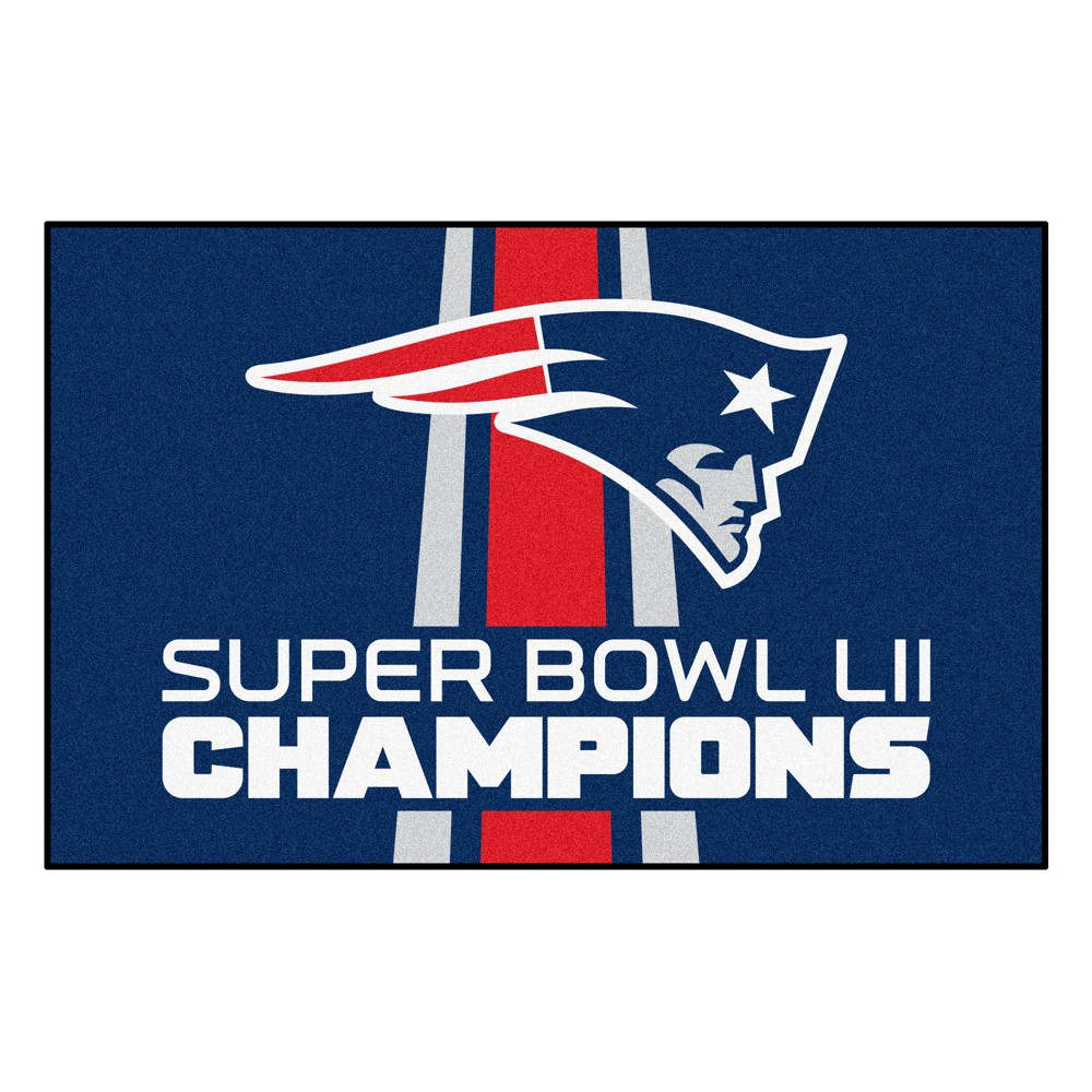 Rugs 2'X3' Fanmats New England Patriots, Multi-Colored