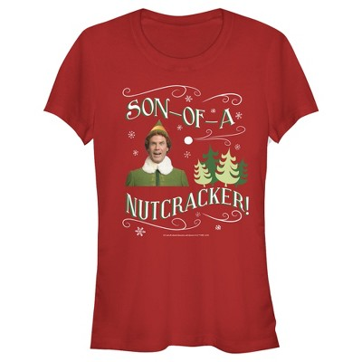 Junior's Elf Son of a Nutcracker T-Shirt