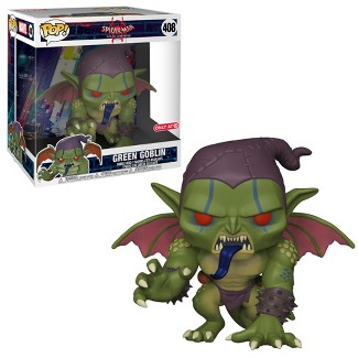 "Funko POP! Marvel: Spider-Man Into The Spider-Verse - 10"" Green Goblin (Exclusive)"
