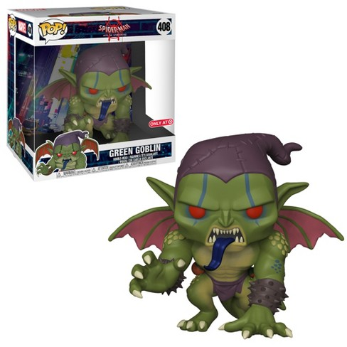 "Funko POP! Marvel: Spider-Man Into The Spider-Verse - 10"" Green Goblin (Exclusive) - image 1 of 3"