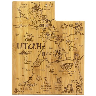 Totally Bamboo Destination Utah Serving and Cutting Board