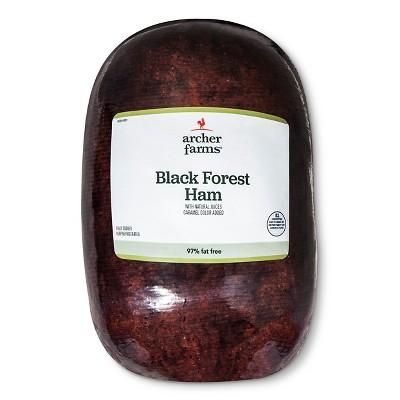 Black Forest Ham - Deli Fresh Sliced - price per lb - Archer Farms™