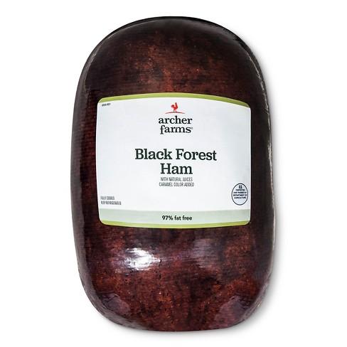 Black Forest Ham - Deli Fresh Sliced - price per lb - Archer Farms™ - image 1 of 2