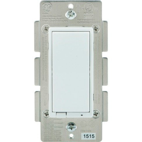 GE Bluetooth In-Wall Smart Dimmer - White (13870) - image 1 of 4