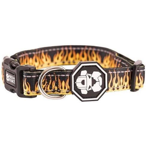 Fresh Pawz Flame Thrower Dog Collar - L - image 1 of 2