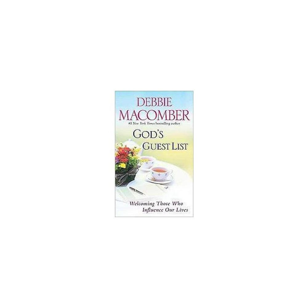 God's Guest List (Reissue) (Paperback)