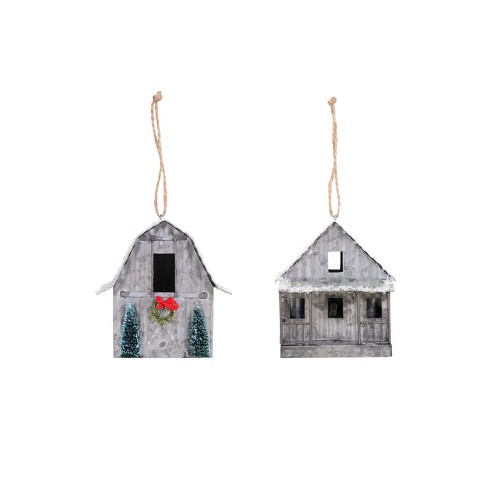 about this item - House Christmas Ornament