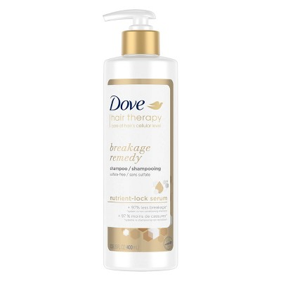 Dove Beauty Hair Therapy Breakage Remedy with Nutrient-Lock Serum Shampoo - 13.5 fl oz