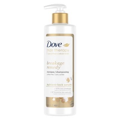 Dove Beauty Hair Therapy Breakage Remedy with Nutrient-Lock Serum Shampoo - 13.5 fl oz
