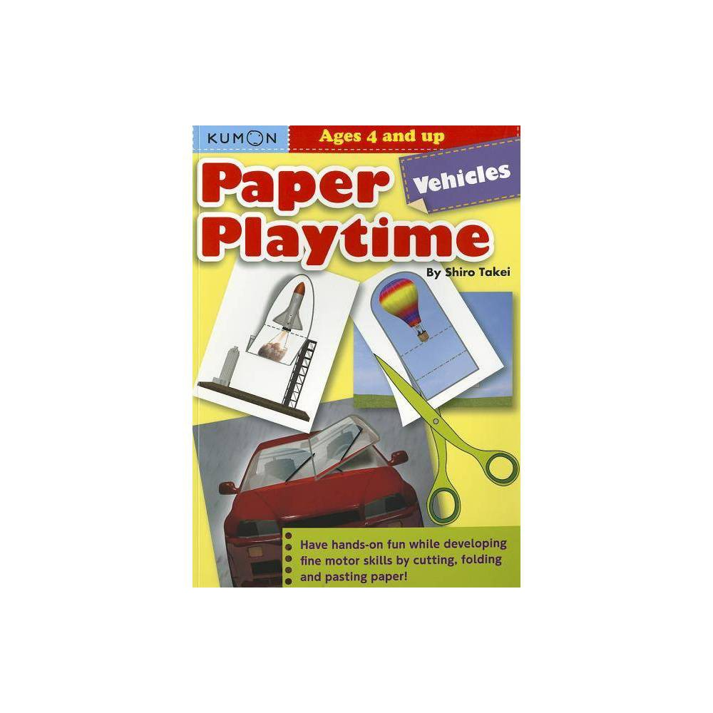 Paper Playtime Vehicles By Shiro Takei Paperback