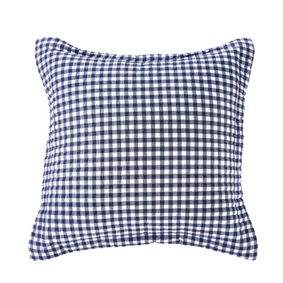 Fillipa Gingham Quilted Euro Sham - Levtex Home