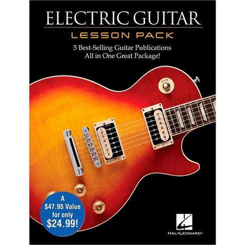 Hal Leonard Electric Guitar Lesson Pack - Boxed Set with Four Books & One DVD - image 1 of 1