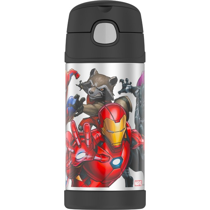 Thermos Marvel Universe 12oz FUNtainer Water Bottle - image 1 of 7
