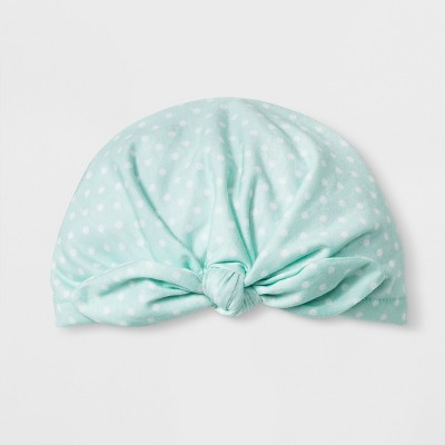 Baby Girls'  Scrunch  hat - Cloud Island™ Mint