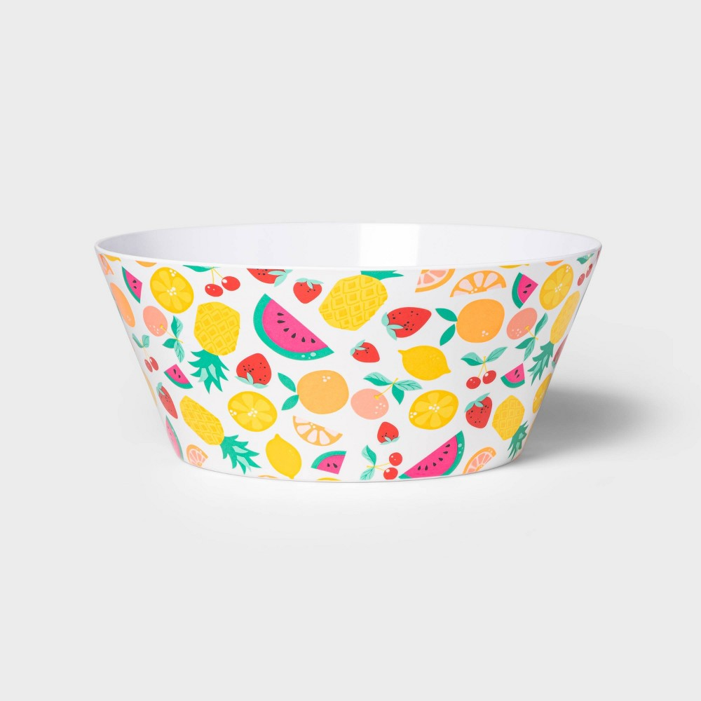 Image of 115oz Melamine Watermelon Serving Bowl - Sun Squad
