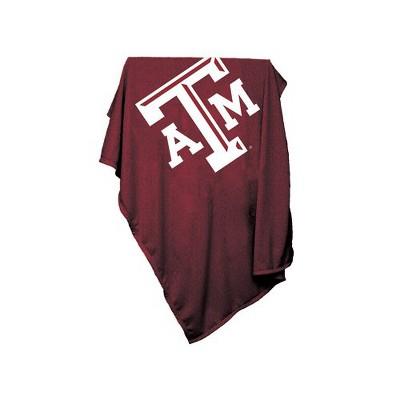 NCAA Texas A&M Aggies Sweatshirt Throw Blanket