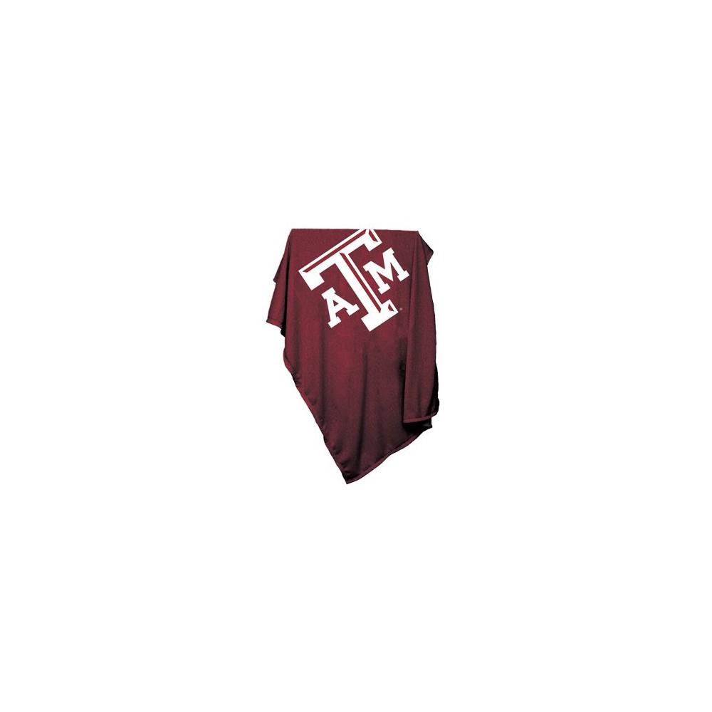 Texas A&m Aggies Sweatshirt Throw Blanket