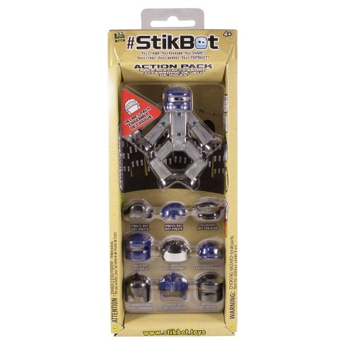 Stickbot Helmet Action Accessory Pack - Silver - image 1 of 1