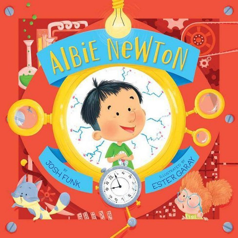 Albie Newton - by  Josh Funk (Hardcover) - image 1 of 1