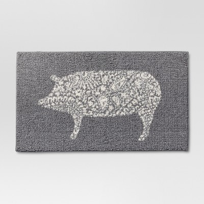 34 x20  Animal Icon Rug Gray - Threshold™