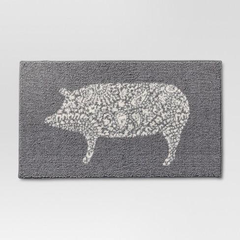 Kitchen Rug Pig - Threshold™