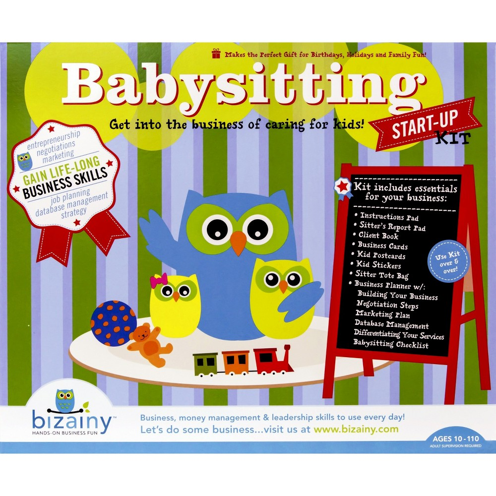 Bizainy Babysitting Activity Kit