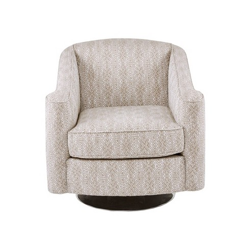 Jeff Swivel Chair Taupe - image 1 of 4