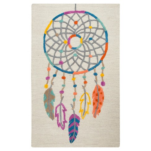 Ivory Dream Catcher Area Rug (3'x5') - Rizzy Home - image 1 of 3
