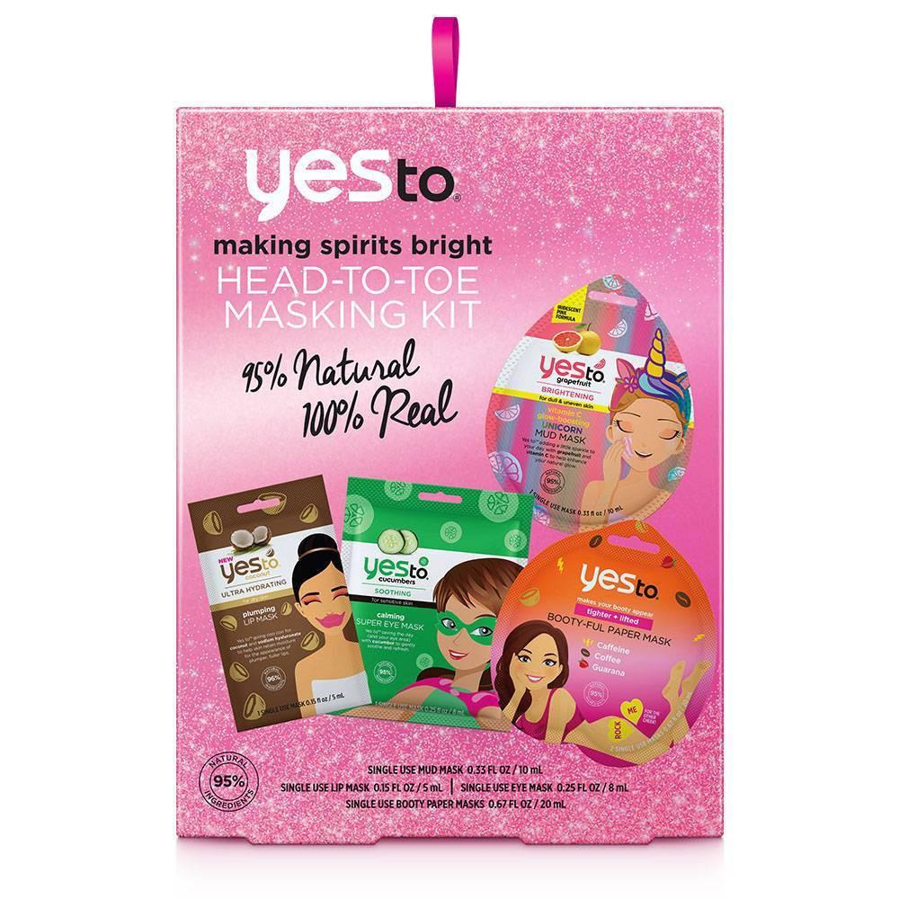 Image of Yes To Head To Toe Masking Kit
