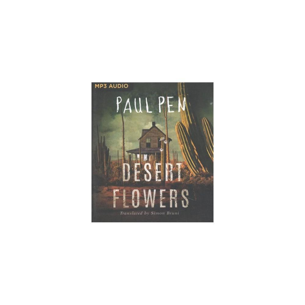Desert Flowers - by Paul Pen (MP3-CD)