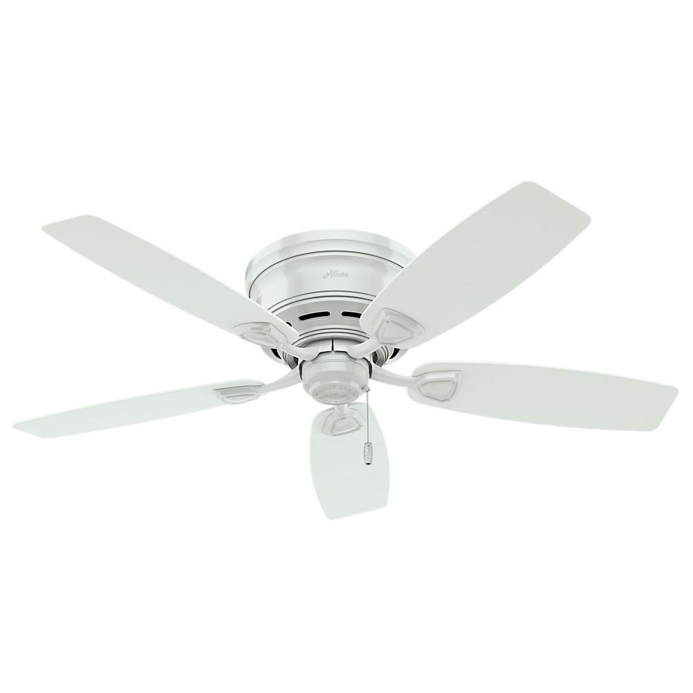 Image of 48 Sea Wind White Ceiling Fan - Hunter Fan