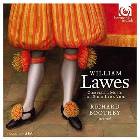 Richard boothby - Lawes:Pieces for the lyra viol (CD) - image 1 of 1