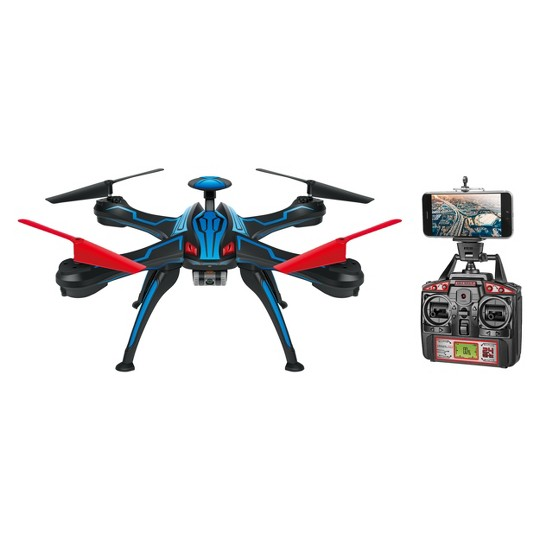 Venom Pro Live Feed HD Camera GPS Drone Quadcopter - 2.4GHz - 4.5CH - Picture & Video Camera image number null