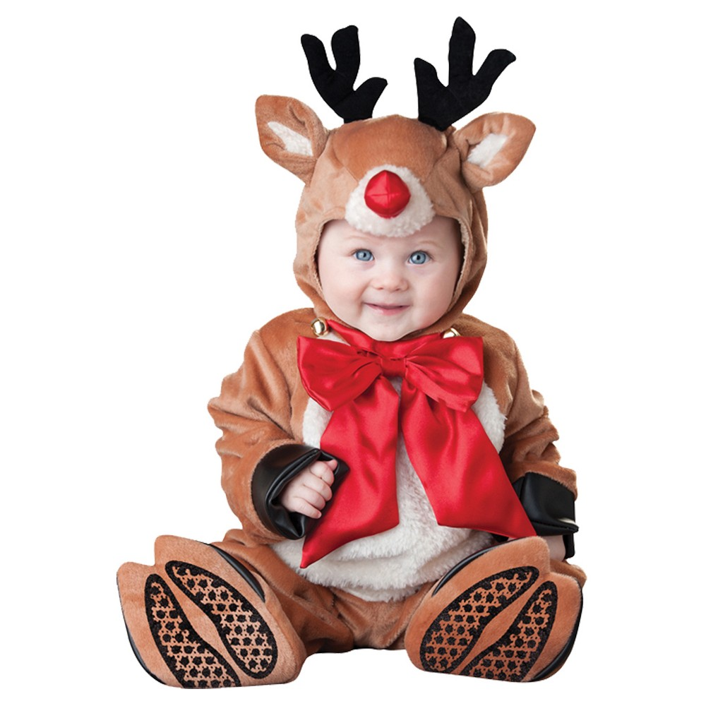 Toddler Reindeer Rascal Costume 6-12 Months, Toddler Unisex, Size: 6-12M, Multicolored