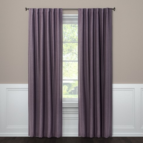 "Blackout Curtain Panel Aruba Lilac 108"" - Threshold™ - image 1 of 2"