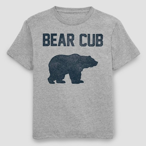 Men's Bear Cub Short Sleeve Graphic T-Shirt - Athletic Heather - image 1 of 1