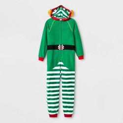 Kids' Elf Union Suits - Cat & Jack™ Green