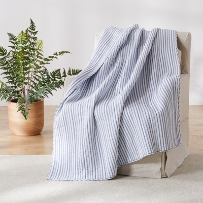 Tobago Coastal Quilted Throw - Levtex Home